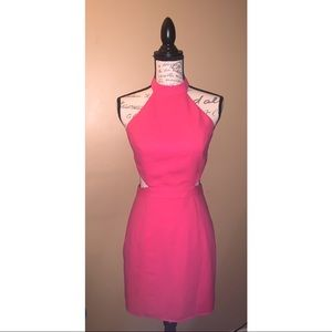 Bright Pink Mini Dress